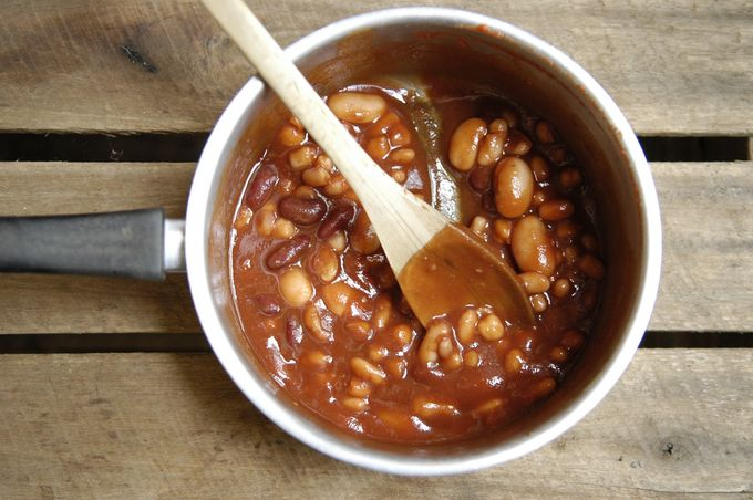 Emergency Baked Beans