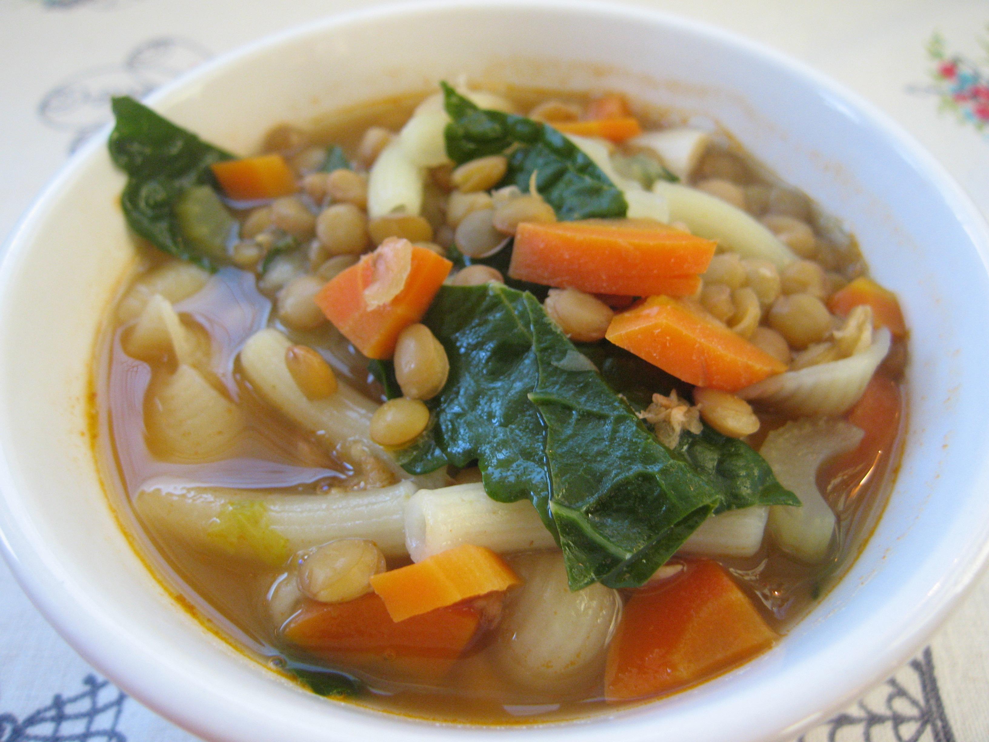 Grandmom's Lentil Soup