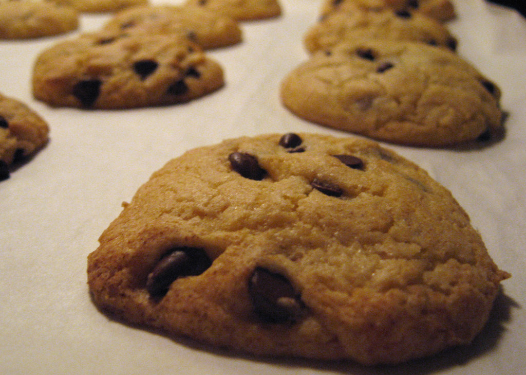 Vanilla Chocolate Chip Cookies
