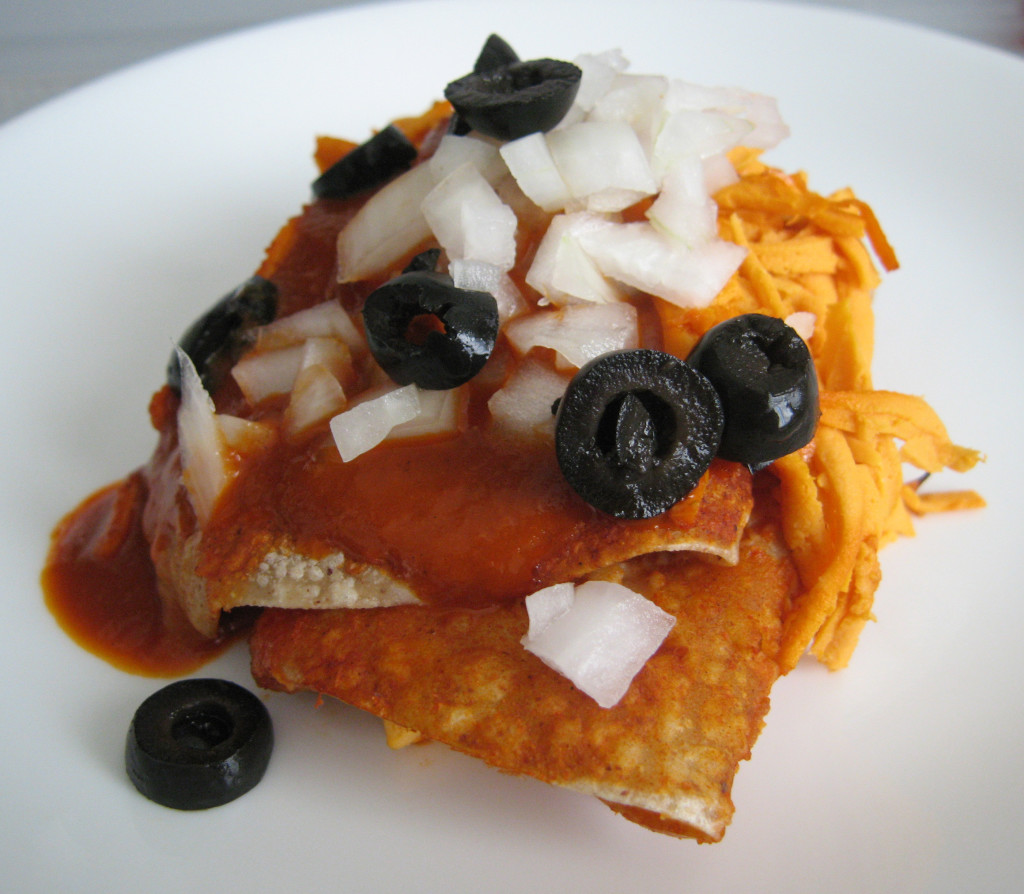 Enchirito (Black Bean Enchiladas)
